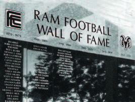 football wall of fame
