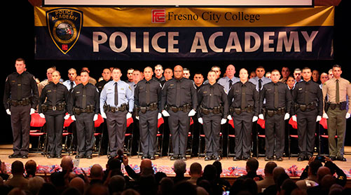 Police Academy Graduation Ceremony