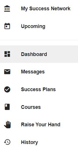 Select dashboard on left menu