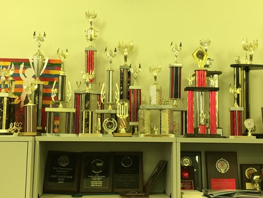 Fresno City College Speech and Debate Trophies